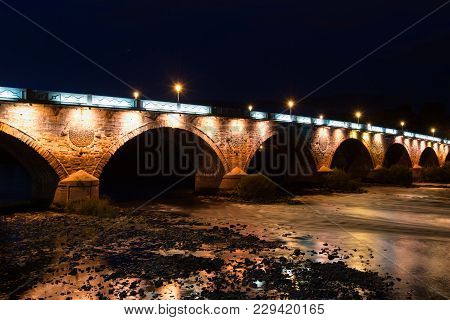 The Beautiful Bridges In The Hills Of Scotland