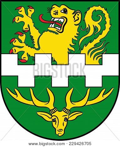 Coat Of Arms Of Bergisch Gladbach Is A City In The Cologne/bonn Region Of North Rhine-westphalia, Ge