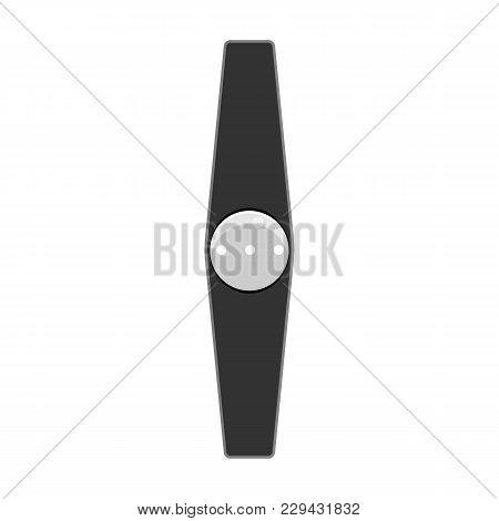 Fitness Run Tracker Band. Sport Bracelet Or  Wristband. Vector Illustration.