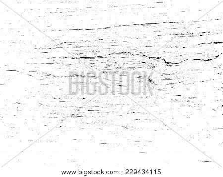 Distressed Grainy Wood Overlay Wall Texture. Grunge Wooden Planks Messy Background. Dirty Rustic Emp