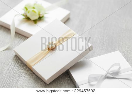 Wedding Boxes For Gifts Or Invitation Cards.