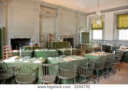 Asssembly Room Of Independence Hall - Philadelphia