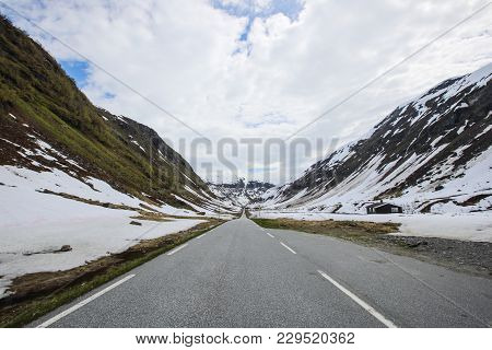 Road In Spring Mountains