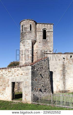 Church In The Destroyed Village Of Oradour Sur Glane In June 1944, France