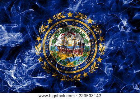 New Hampshire State Smoke Flag, United States Of America
