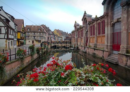 Canal In The Little Venice, Colmar France