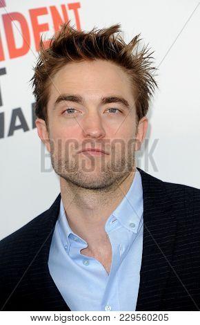 Robert Pattinson at the 2018 Film Independent Spirit Awards held at Santa Monica Beach, USA on March 3, 2018.