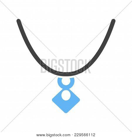 Jewelry, Locket, Gold Icon Vector Image. Can Also Be Used For Clothes And Fashion. Suitable For Web