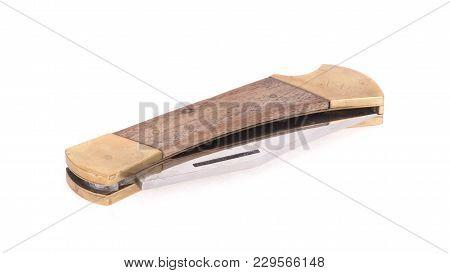 Folded Old Pocket Knife