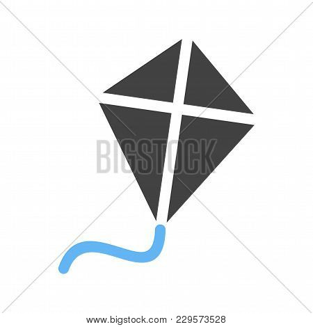 Kite, Fly, Sport Icon Vector Image. Can Also Be Used For Summer, Recreation And Fun. Suitable For Us