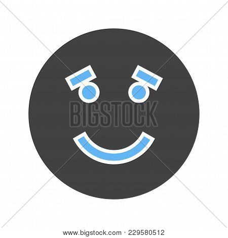 Fake, Wrong, False Icon Vector Image. Can Also Be Used For Emotions And Smileys. Suitable For Mobile