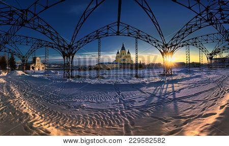 Alexander Nevsky Cathedral. Nizhny Novgorod, Russia