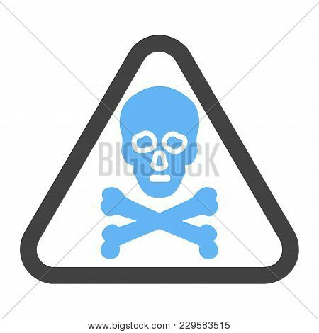 Danger, Sign, Warning Icon Vector Image. Can Also Be Used For Traffic Signs. Suitable For Web Apps,