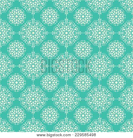 Arabic, Islamic, Indian Seamless Pattern