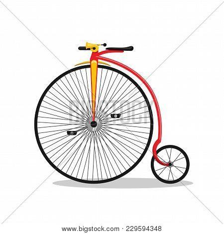 Exotic Retro Bicycle For Circus Performances, Bike, Vintage