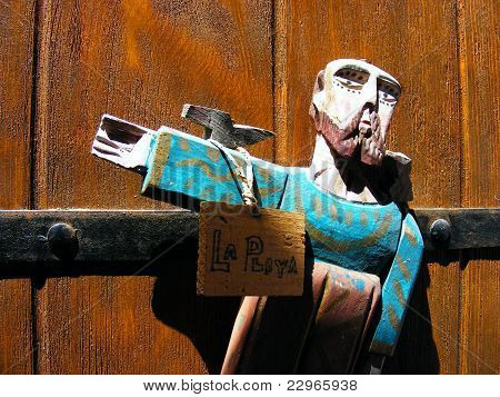 Mexican Door Monk