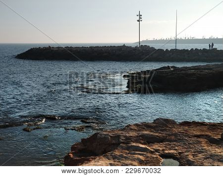 Seafront Of Torrevieja City. Costa Blanca. Spain