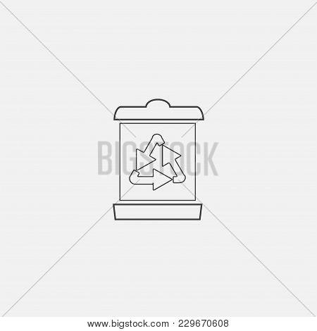 Recycle Bin Vector Icon