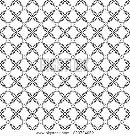 Geometric Abstract Wallpaper. Symmetric Digital Paper, Textile Print. Geometrical Seamless Lattice.