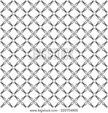 Geometric Abstract Wallpaper, Seamless Pattern. Symmetrical Grille, Digital Paper, Textile Printing.