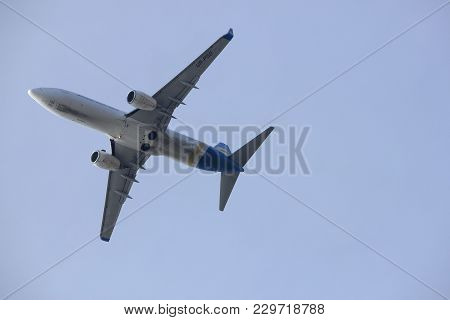 Amsterdam The Netherlands - March 4th, 2018: Ur-psd Ukraine International Airlines Boeing 737-800 Ta