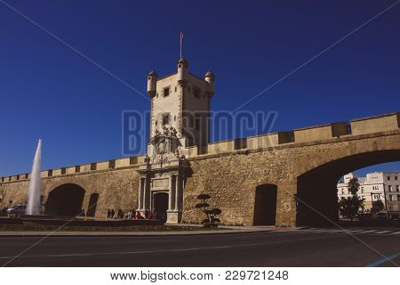 Wall. Puerta De Tierra. Cádiz. Picture Taken - February 10, 2018.