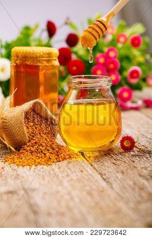 Natural Honey background