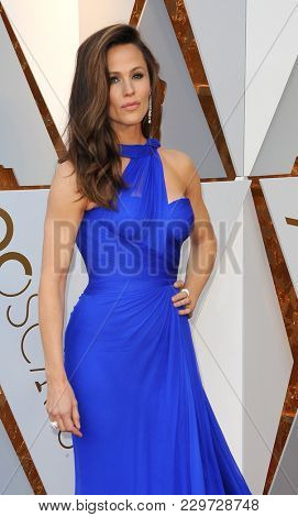 Jennifer Garner at the 90th Annual Academy Awards held at the Dolby Theatre in Hollywood, USA on March 4, 2018.