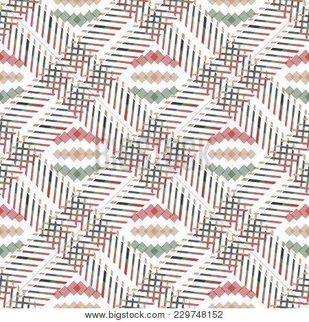Tartan Seamless Pattern. Traditional Scottish Ornament. Tartan Plaid Inspired Background. Seamless S