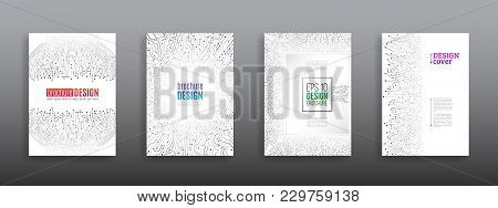 Futuristic Hi-tech Flyer Template. Technology Communication Element For Brochure. Circuit Board Back