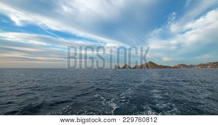 Lands End As Seen From The Sea Of Cortes At Cabo San Lucas In Baja California Mexico Bcs