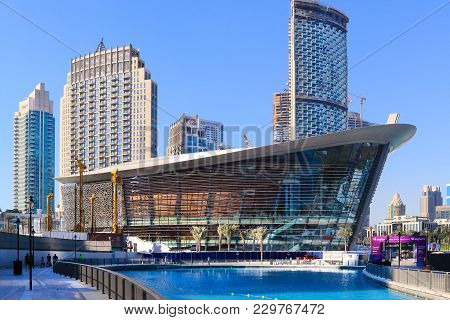 Dubai, Uae - Now 29: Dubai Opera Arts Centre, As Seen On Now 29, 2017 At The Opera District In Downt