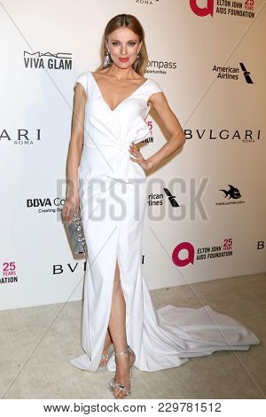 LOS ANGELES - MAR 4:  Bar Paly at the 2018 Elton John AIDS Foundation Oscar Viewing Party at the West Hollywood Park on March 4, 2018 in West Hollywood, CA