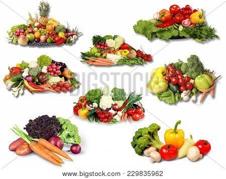 Assorted Fruits Natural Food Low Fat Organic Food Organic Product Color