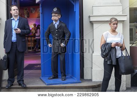 Ripleys, Believe It Or Not Tourist Attraction In London. Piccadilly Circ
