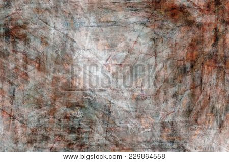 Illustration of an abstract art red painted background
