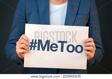 Hashtag Metoo, Violence Against Women And Sexual Harassment Conceptual Image