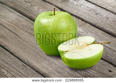 Healthy Lifestyle Healthy Food Low Fat Green Color White Background