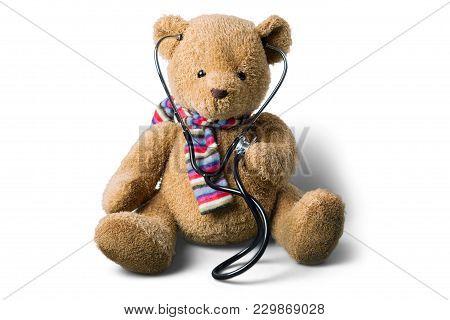 Bear Teddy Stethoscope Teddy Bear Stuffed Animal Doctor Visit Bear Cub