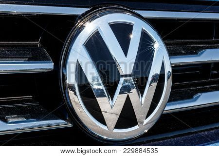 Indianapolis - Circa March 2018: Volkswagen Cars And Suv Dealership. Vw Is Among The World's Largest