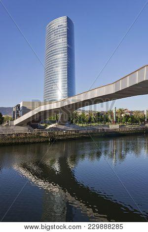 Bilbao City Architecture In Vizcaya Province, Spain