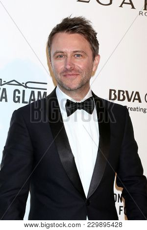 LOS ANGELES - MAR 4:  Chris Hardwick at the 2018 Elton John AIDS Foundation Oscar Viewing Party at the West Hollywood Park on March 4, 2018 in West Hollywood, CA