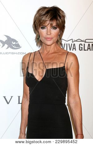 LOS ANGELES - MAR 4:  Lisa Rinna at the 2018 Elton John AIDS Foundation Oscar Viewing Party at the West Hollywood Park on March 4, 2018 in West Hollywood, CA