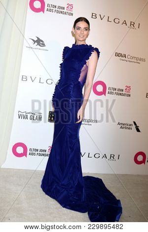 LOS ANGELES - MAR 4:  Lydia Hearst at the 2018 Elton John AIDS Foundation Oscar Viewing Party at the West Hollywood Park on March 4, 2018 in West Hollywood, CA