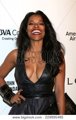 LOS ANGELES - MAR 4:  Keesha Sharp at the 2018 Elton John AIDS Foundation Oscar Viewing Party at the West Hollywood Park on March 4, 2018 in West Hollywood, CA