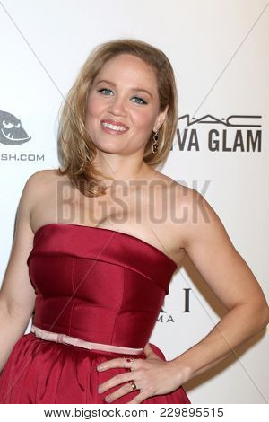 LOS ANGELES - MAR 4:  Erika Christensen at the 2018 Elton John AIDS Foundation Oscar Viewing Party at the West Hollywood Park on March 4, 2018 in West Hollywood, CA