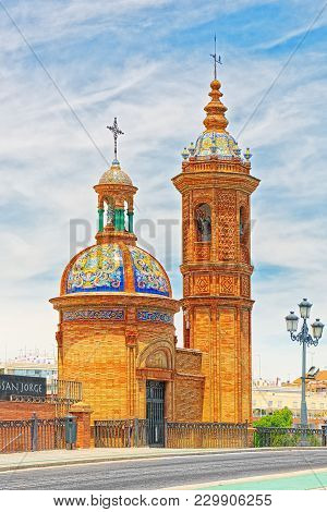 Chapel Virgin Of The Carmen In Coast Of The Guadalquivir To The