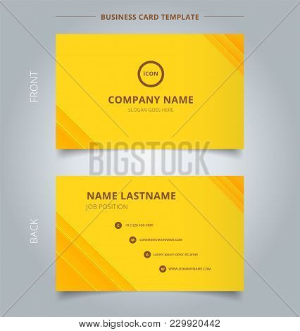 Creative Business Card And Name Card Template Technology Striped Overlapping Diagonal Lines Pattern