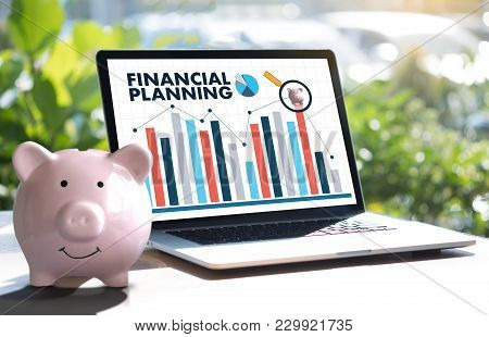 Financial Planning Retirement Planning Woman And Man At Retirement  With Consultant Or Adviser