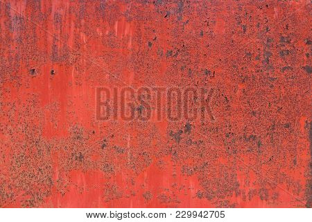 Shabby Red Paint, Pattern